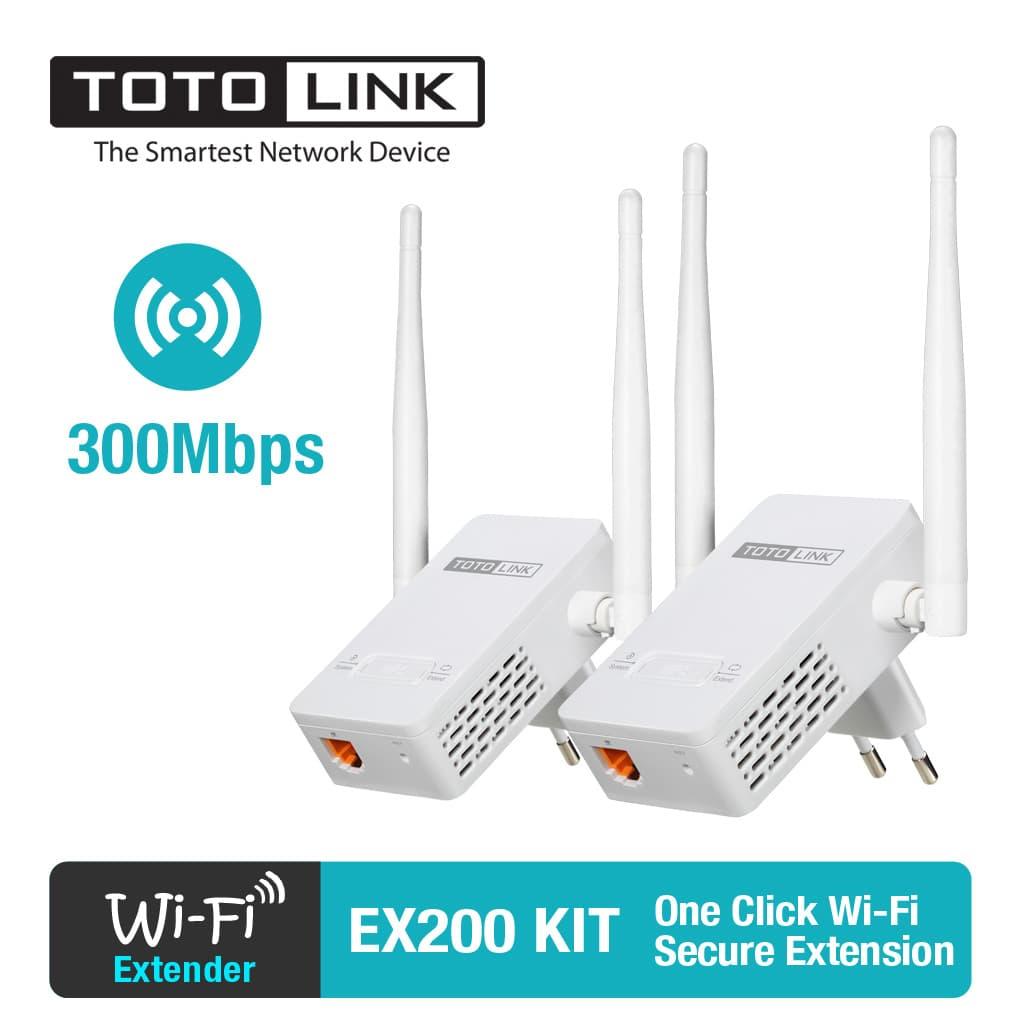 Thiết bị kích sóng wifi Totolink Ex200