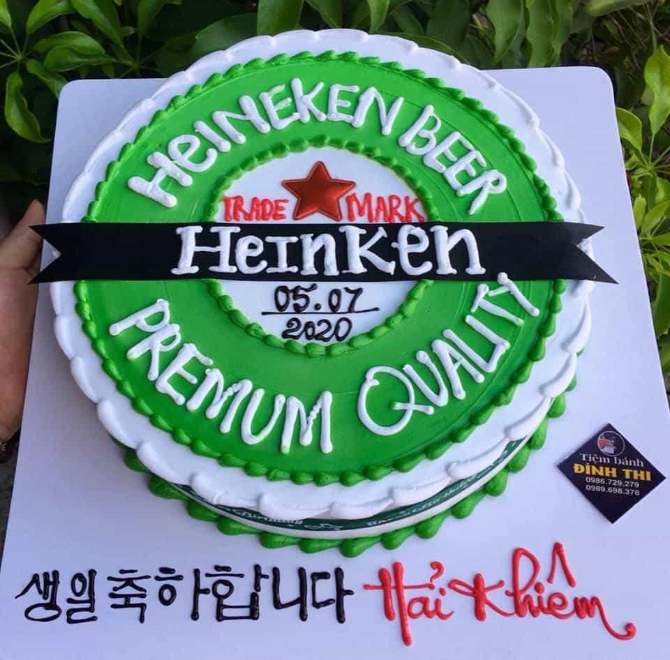 Fan cuồng của bia Heinken là đây