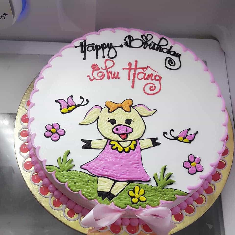 Bánh sinh nhật đẹp và ý nghĩa cho bé gái
